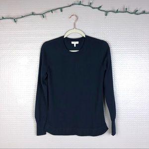 Reiss | Clover Round-Neck Jumper Navy Wool